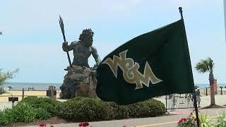 William & Mary Athletics Flag at Virginia Beach