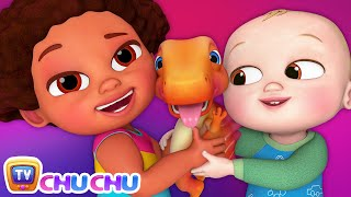 Chiku Had A Little Dino - ChuChu TV 3D Nursery Rhymes & Kids Songs