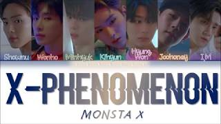 Monsta X  몬스타엑스  - 'x-phenomenon'  Color Coded Lyrics Eng/rom/kan/歌詞