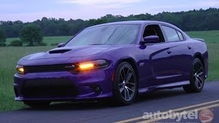 2016 Dodge Charger R/T SCAT PACK Test Drive Video Review – 485 HP HEMI