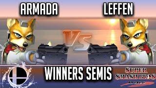Video Smash'N'Splash 4  WINNERS SEMIS - [A] | Armada (Fox, Peach) vs TSM | Leffen (Fox) download MP3, 3GP, MP4, WEBM, AVI, FLV September 2018