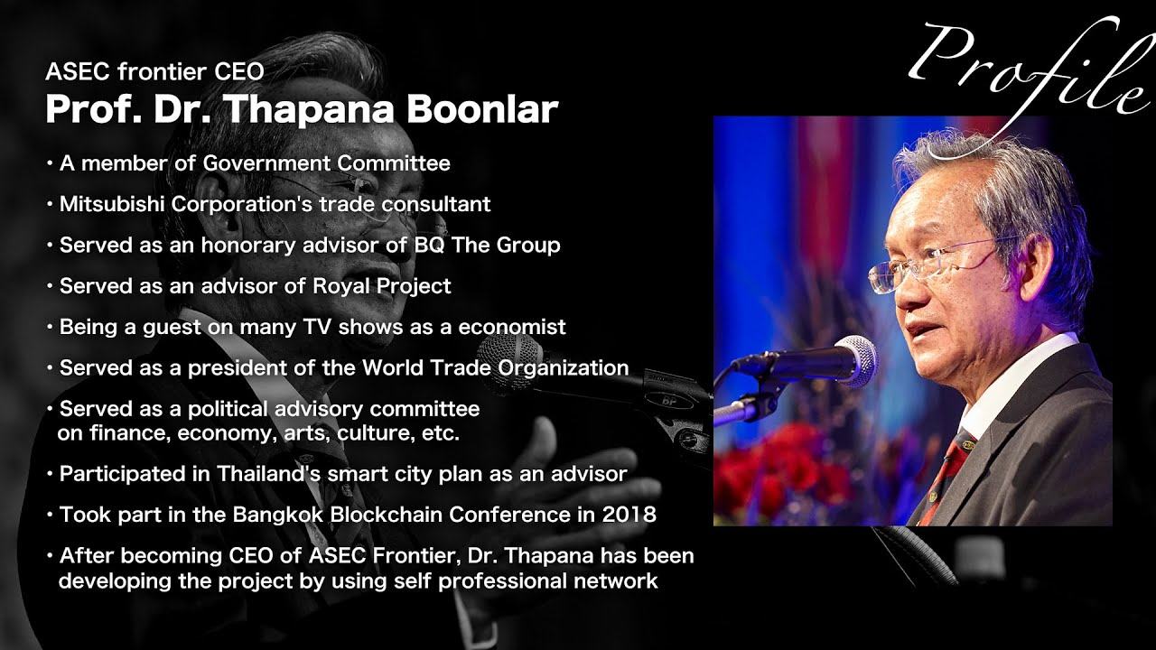 Message from Prof. Dr. Thapana Boonlar