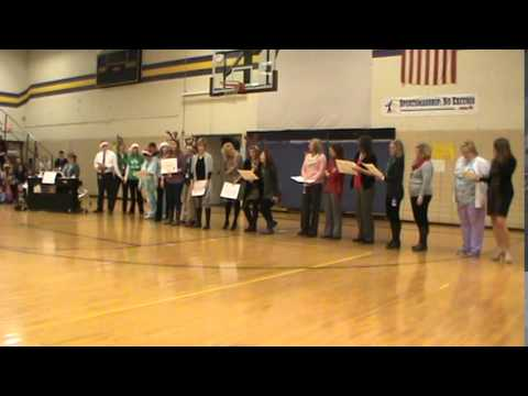 Teachers 12 Days of Christmas Onsted Elementary School Holiday Sing-A-Long 12-21-2015