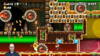 "100-Mario Highlight: ""【SPEEDRUN】地獄 1・2・3面 改"" by (。・ω・。)"