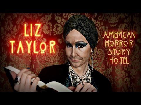 LIZ TAYLOR • American Horror Story - HOTEL • MakeUp Transformation & GIVEAWAY By Cira Las Vegas