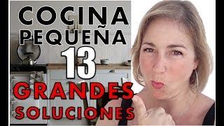Gambar cover Decoración COCINA PEQUEÑA  🍳  🍳 funcional y bonita. 13 Claves.