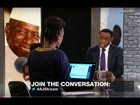 Dr Foretia discusses Gambia post-election crisis on Al Jazeera