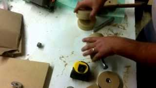 Cheap Diy Belt Sander 2a.  Rollers