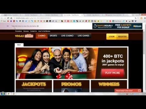 Bitsforclicks. Bitcoin Bux. Earnings On Clicks Without Attachments