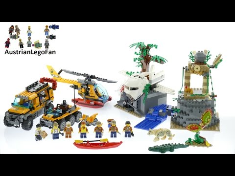 Lego City 60161 Jungle Exploration Site - Lego Speed Build Review