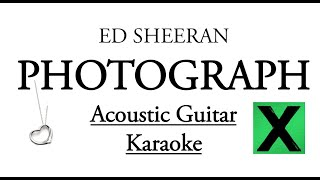 "Video ""Photograph"" - Ed Sheeran Karaoke Lyrics (Acoustic Guitar Karaoke) Instrumental download MP3, 3GP, MP4, WEBM, AVI, FLV Januari 2018"