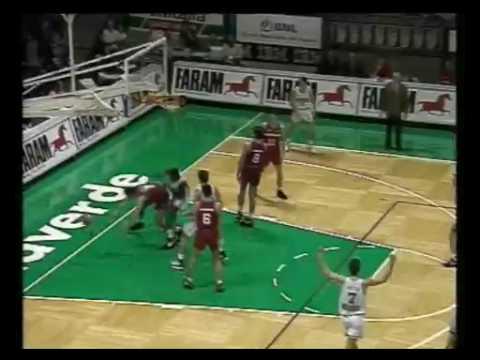 Benetton Basket : Orlando Wooldridge 1994 1995
