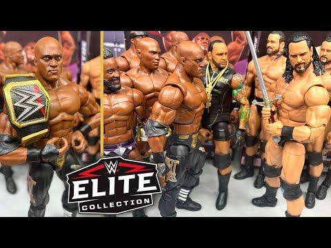WWE ELITE 89 BOBBY LASHLEY & DREW MCINTYRE FIGURE REVIEW!