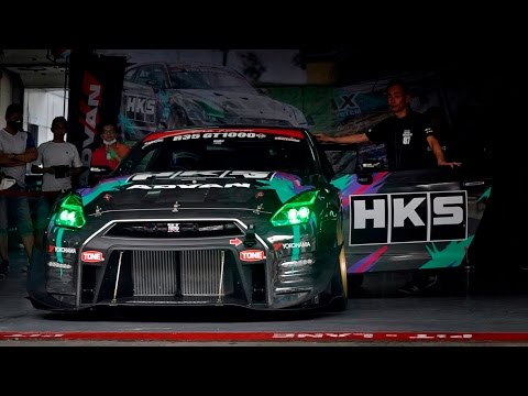 1300hp HKS R35 GTR NOB Time Attack Sepang