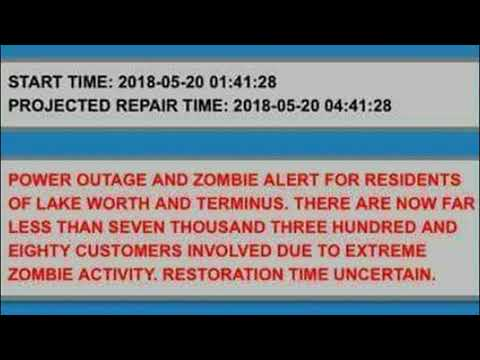 South Florida Town Sends Out Edited Alert About Power Outage and Zombies