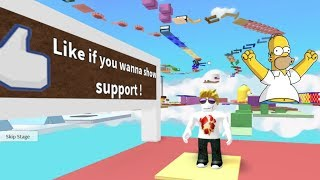 Roblox Parkour : Escape Homer Simpson Obby - Parte 2