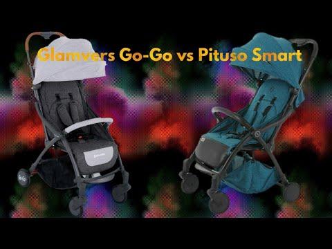 """Прогулочные коляски """"Glamvers Go-Go"""" и """"Pituso Smart"""". Складываются САМИ! Обзор детских товаров."""