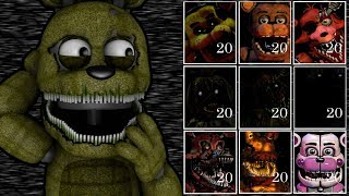 PLUSHTRAP PLAYS: Ultimate Custom Night Extended || THE REJECTED ANIMATRONICS GET THE SPOTLIGHT!!!