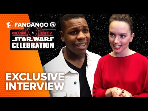 Exclusive Star Wars: The Last Jedi Cast Interviews (2017) | Fandango All Access