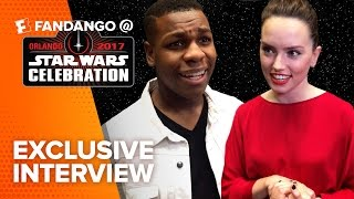 Exclusive star wars: the last jedi cast interviews (2017) | fandango all access