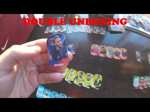 Double Unboxing-Ανοίγουμε 2 κούτες Champion's League 2018