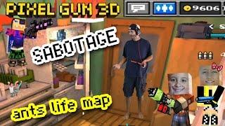 Let's Play Pixel Gun 3D: SNEAKY SABOTAGE!! EPIC Ants Life Map w/ Dad & Kids (part 12) thumbnail