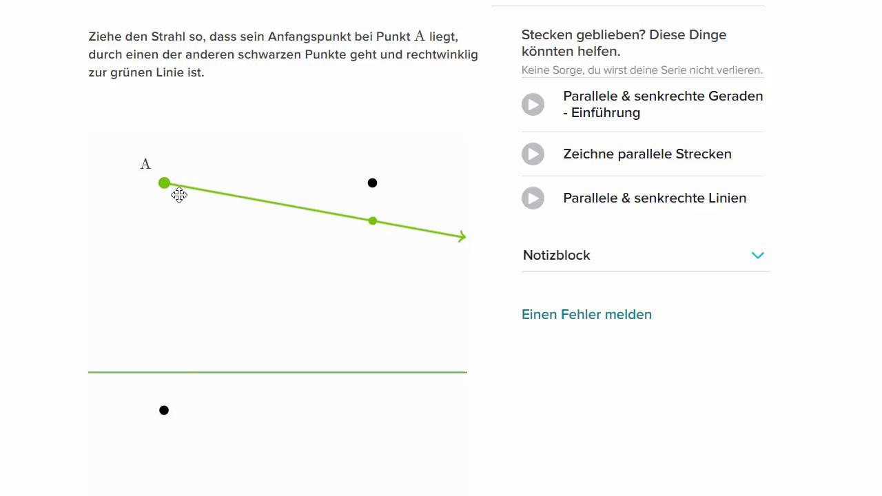 Ziemlich Parallele Und Senkrechte Linien Zum Arbeitsblatt Bilder ...