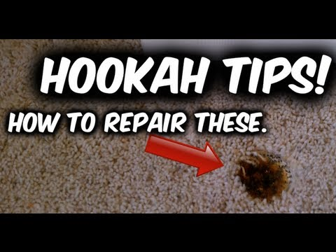 Hookah Tips: How To Repair Carpet Burns