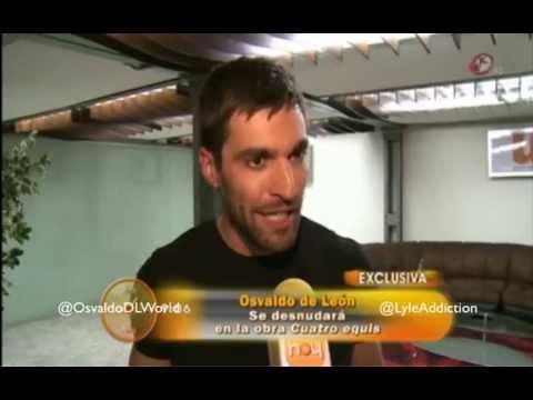 Osvaldo de Len y Pablo Lyle en la obra 4 X  HOY  YouTube