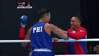 Gambar cover KL2017 29th SEA Games   Boxing - 75kg-81kg FINALS - 🇲🇾 MAS vs 🇵🇭 PHI   24/08/2017