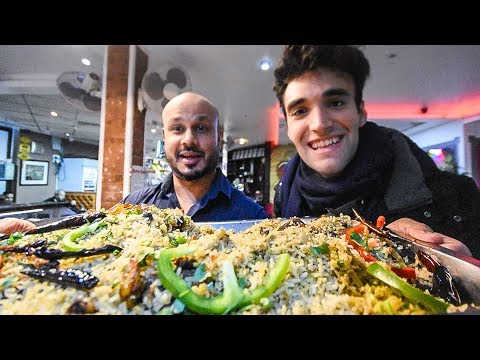 Living Cheap In London - The Street Food Challenge!
