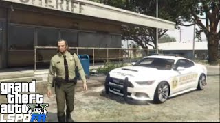 GTA 5 LSPDFR Police Mod 81 | Officer Trevor Phillips Bad Ass Cop | Sheriff Ford Mustang Patrol