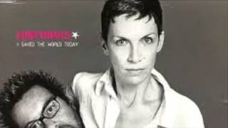EURYTHMICS-saved the world today