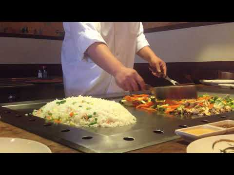 Basic Hibachi Chef Training 101 from Musashi Japanese Steakhouse in Gainesville VA