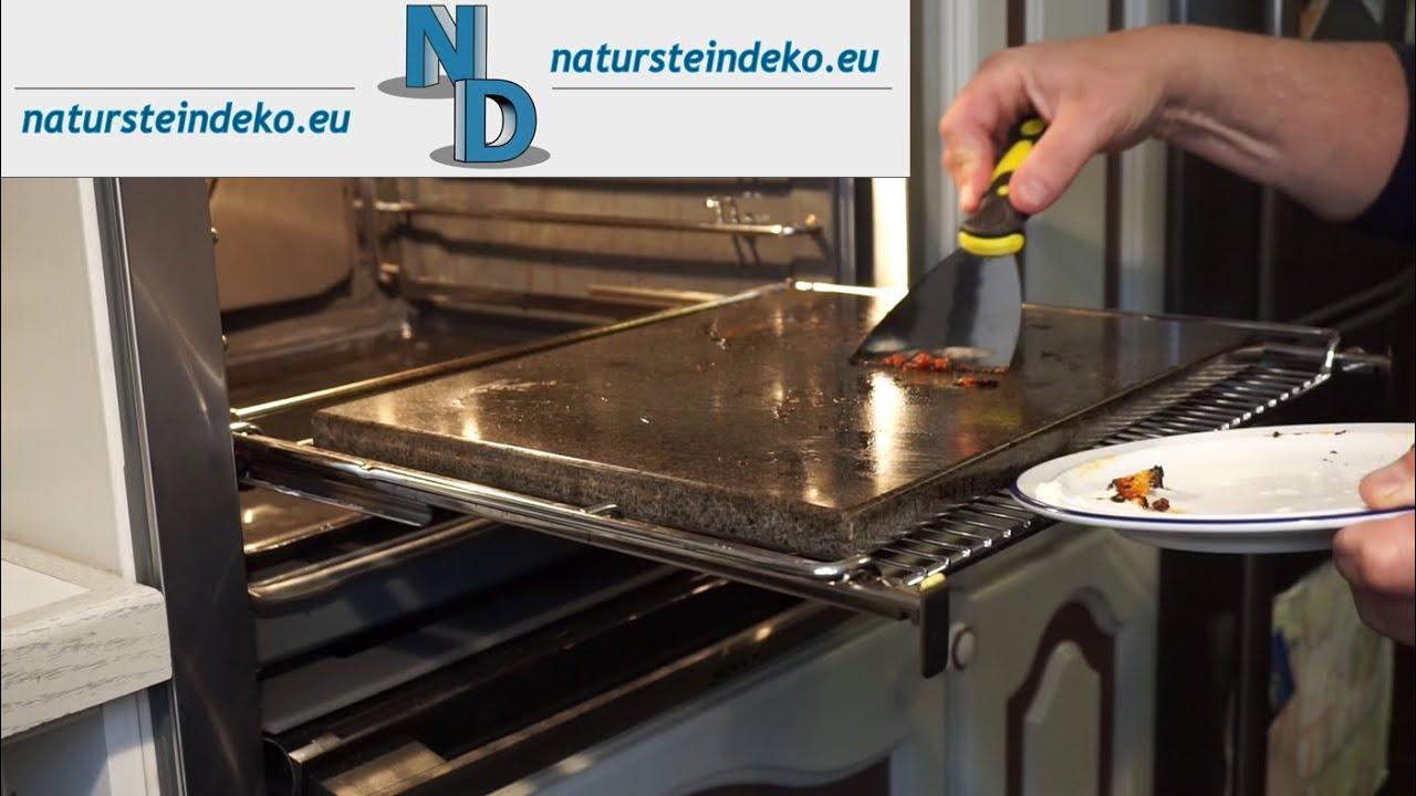 Grillstein Für Gasgrill : Pizzastein reinigen im heißen zustand youtube