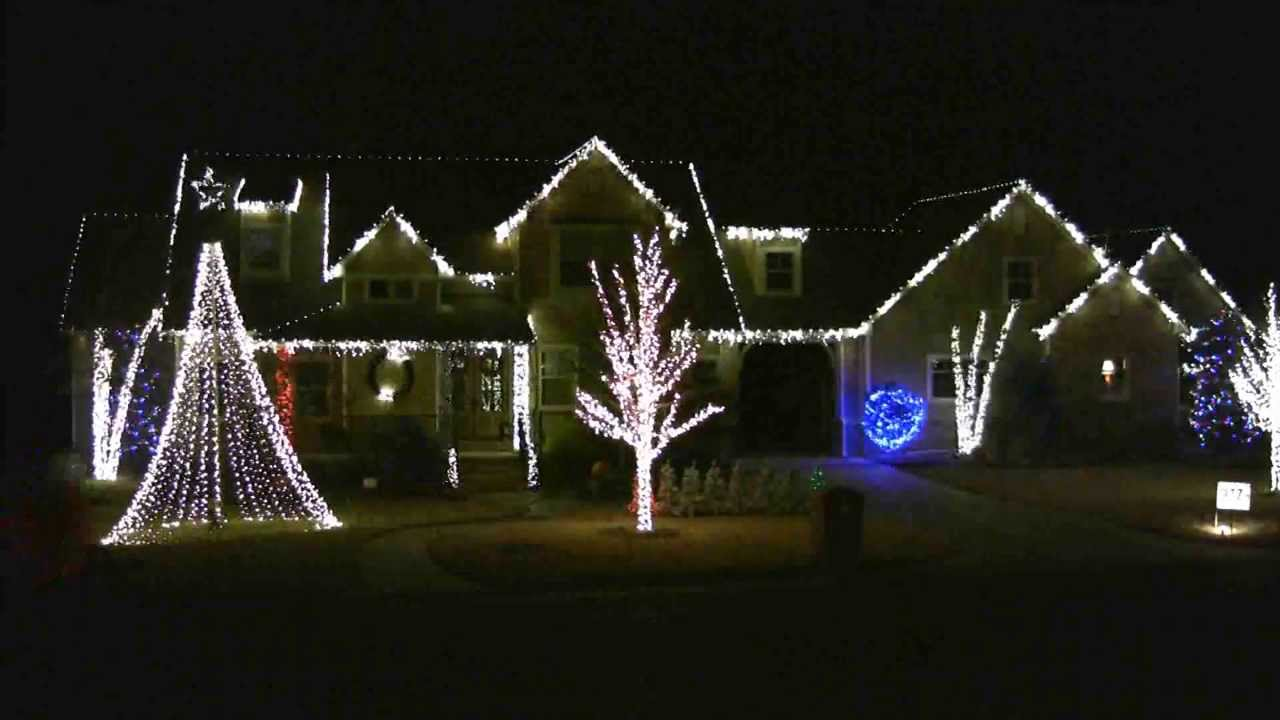 Good Feeling - 2012 McIntire Christmas Light Show - Edmond, OK ...