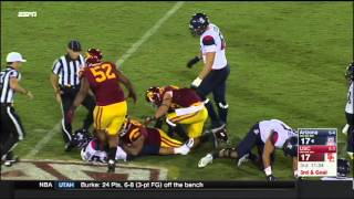 Football: USC 38, Arizona 30 - Highlights (11/7/15)