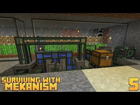 Surviving With Mekanism v9 :: Ep.5 - Pressurized Reaction Chamber Ethylene Production