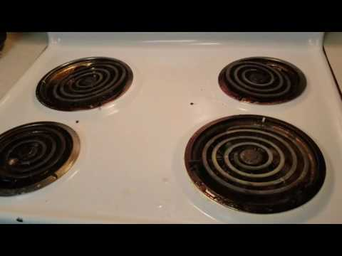 How to Clean Electric Oven-Range (quick & Effective way)