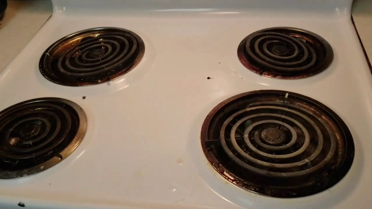 How To Clean Electric Oven Range Quick Effective Way Youtube