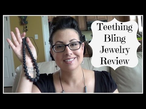 Teething Bling Jewelry Review / GIVEAWAY ENDED