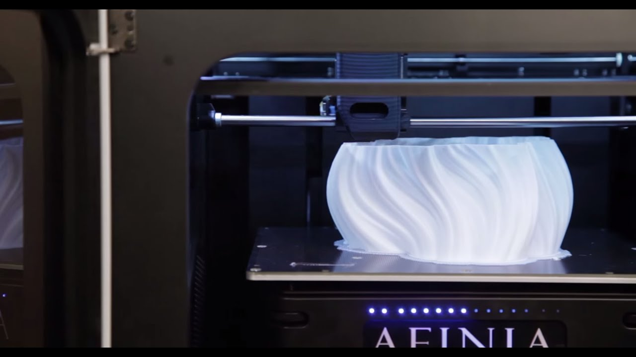 Afinia H800 3d Printer Quick Overview Youtube