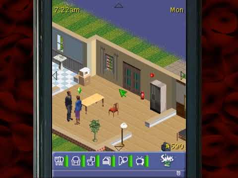 The Sims 2 For Feature Phones — We've Trapped Ben — Yahweasel
