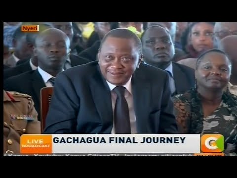 Munduiriri - The song The late Gachagua wanted sung at his burial