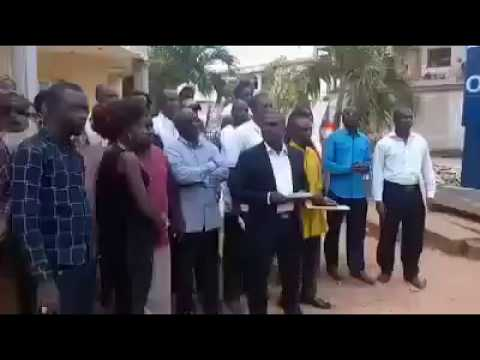 Gambia: Daily Observer Staff  Demanding The Resignation Of T