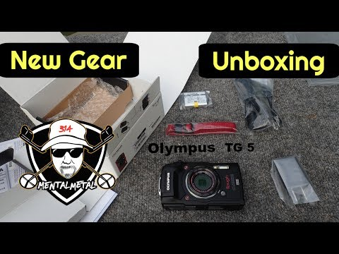 Unboxing The New Olympus TG-5 4K Waterproof Digital Camera