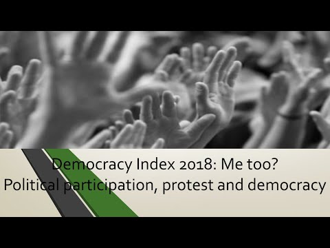 Democracy index 2018 (economist intelligence unit)