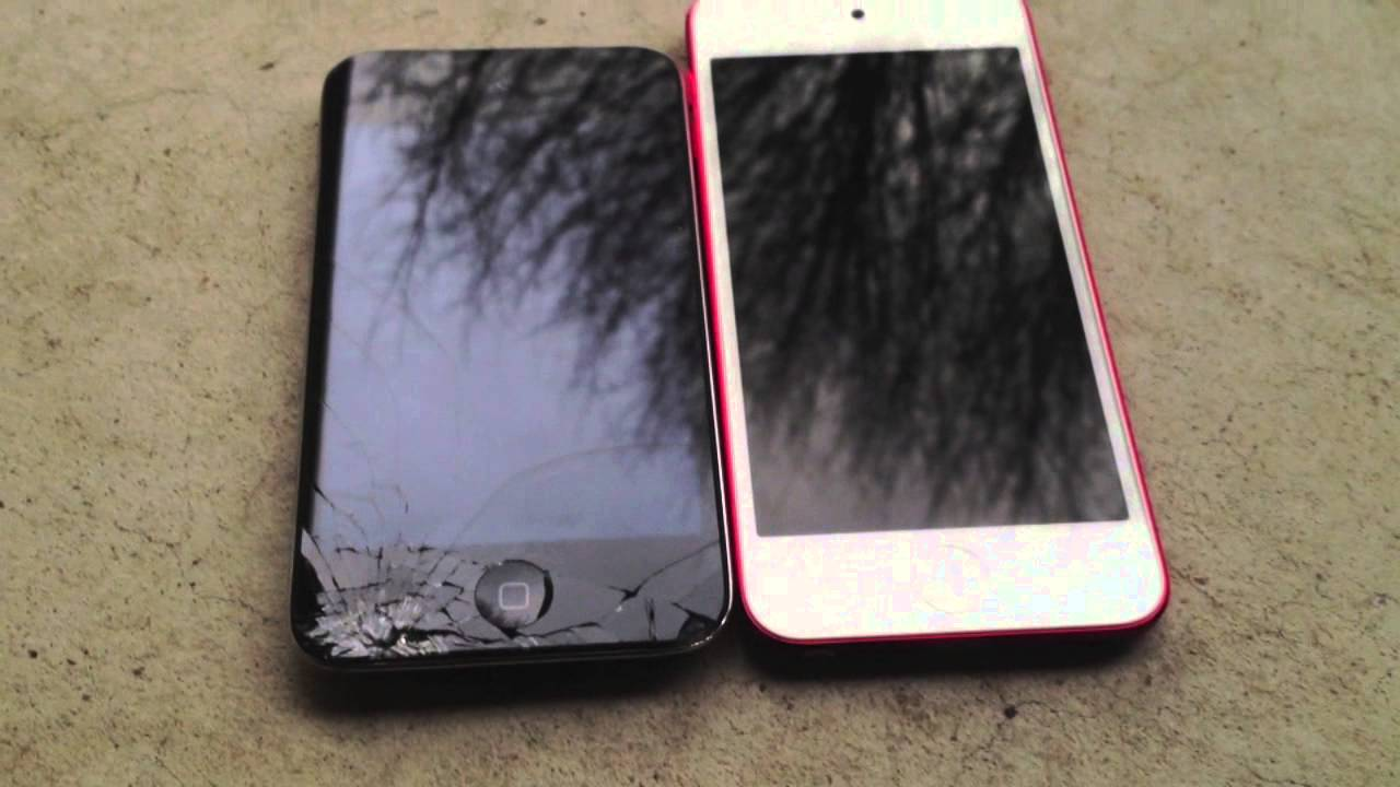 iPod touch 4th gen VS iPod touch 5th gen - YouTube