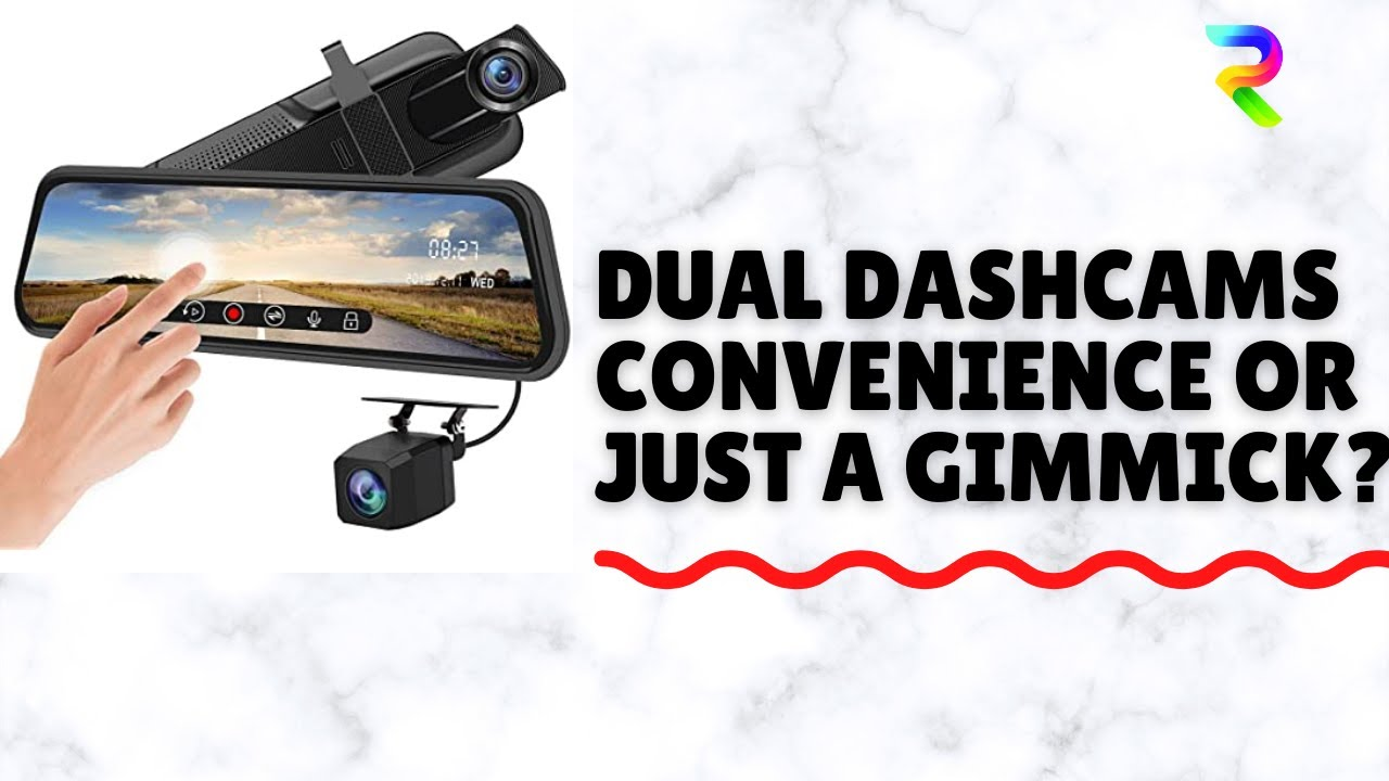 New 1080P HD Car Dash Camera Dual Cam Vehicle Front Rear DVR Lens Video Recorder