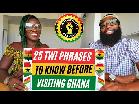 Download 25 TWI Words I Wish I Knew Before Coming to Ghana | Learn Ghana Twi Akan | Authentic African